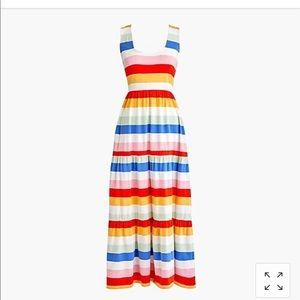 JCrew Striped Sundress